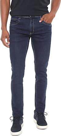 Sawary Calça Jeans Sawary Slim Sk Comfort Azul-marinho