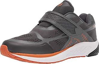 6ab663f999 Propét Propet Mens One Strap Sneaker, Burnt Orange/Dark Grey, 16 3E US