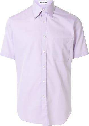 Durban plain short-sleeved shirt - PURPLE