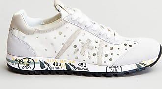 Reposi Calzature PREMIATA Sneakers in pelle bianca
