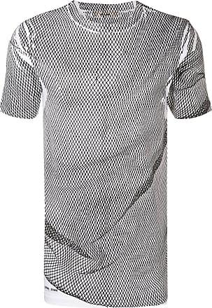 Damir Doma Camiseta de tricô com mesh - Branco