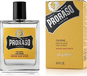 Proraso Single Blade Eau De Cologne, Wood and Spice, 3.4 fl. Oz