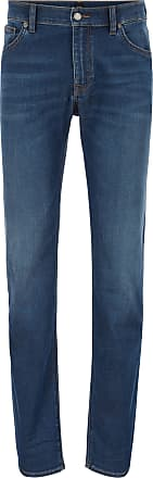 BOSS Regular-fit jeans in super-soft stretch denim