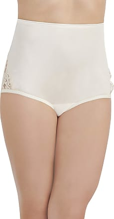 Vanity Fair Womens Perfectly Yours Lace Nouveau Brief Panty Womens Perfectly Yours Lace Nouveau Brief Panty 13001 Briefs - White