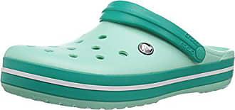 Crocs unisex-adult Crocband Clog, new mint/tropical teal, 8 US Men / 10 US Women