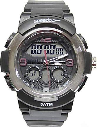 Speedo Relógio Masculino Speedo Anagigi 81185G0EVNP1 - Preto/Prata