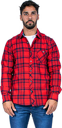 Red Nose CAMISA FLANELADA RED NOSE TRACK VERMELHO GG