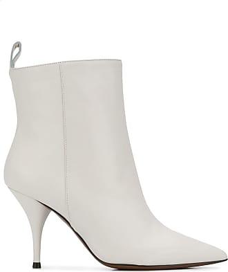 L'autre Chose Ankle boot bico fino - Branco