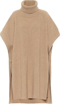Joseph Ribbed-knit turtleneck poncho