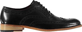 Firetrap Mens Blackseal Somerset Brogues Lace Up Leather Upper Black UK 10 (45)