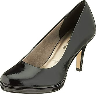 Tamaris 22426 Escarpins Femme Noir (Black Patent) 38 EU