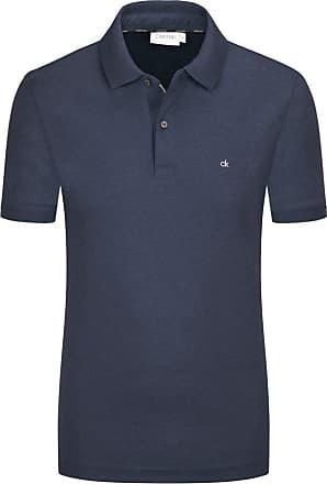 Calvin Klein Poloshirt in Jersey-Qualität, Slim Fit von Calvin Klein in Marine für Herren