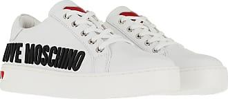 Love Moschino Sneaker Cassetta35 Vitello Bianco