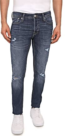 Jack & Jones Calça Jeans Jack & Jones Slim Glenn Azul