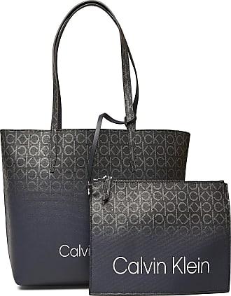 Calvin Klein Ck Mono Ombre Shoppe Bags Shoppers Fashion Shoppers Blå Calvin Klein