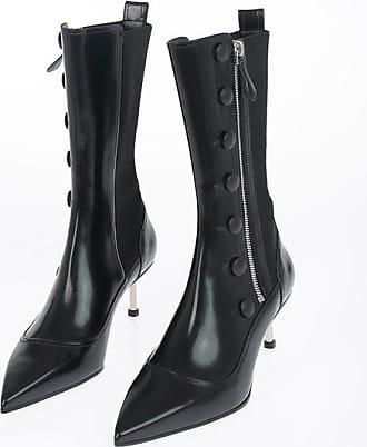 Alexander McQueen 6 cm leather boots Größe 36