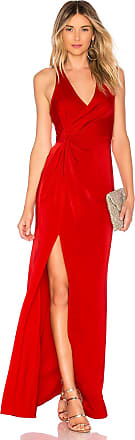 Lovers + Friends Priscilla Gown in Red