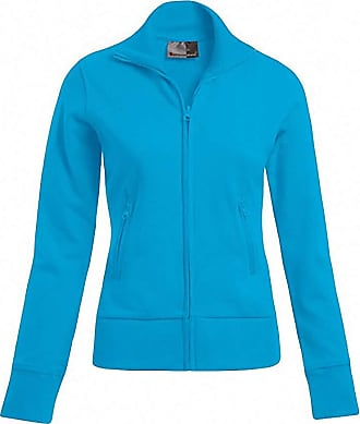 2Store24 Womens Jacket Stand-Up Collar in Turquoise Size: M