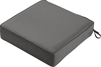 Classic Accessories Square Patio Lounge 5 in. Thick Seat Cushion Heather Indigo Blue - 62-035-INDIGO-EC