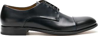 BOSS Sapato derby de couro - Preto