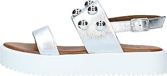Inuovo Sandal 128016 128016SILVER Silver Size: 8.5 UK