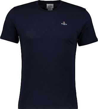 Vivienne Westwood Mens Short Sleeve Peru Tee (XL, Ink Blue)