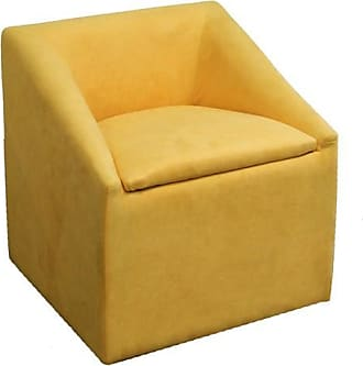 ORE 20.75 Yellow Accent Chair with Storage