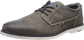 Tom Tailor Mens 6980702 Derbys, Grey 00011, 10.5 UK