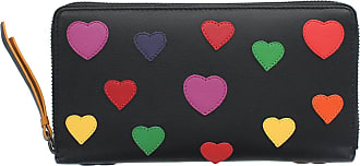 Visconti Love Collection Passion Leather Zip Around Purse RFID LV5 Black