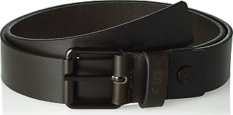 Calvin Klein Jeans Mens J 3.5cm Adj Leather Belt, Black (Black 001), 46 (size: 105)
