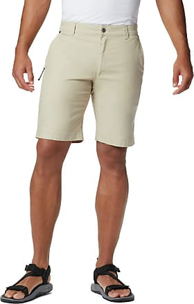 Columbia mens1794791Flex ROC Comfort Stretch Casual Short Cargo Shorts - White - 34W x 10L