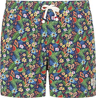 Altea Badehose mit Blumen-Muster von Altea in Blau für Herren