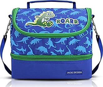 Jacki Design Lancheira Térmica Dinossaur Cor Azul