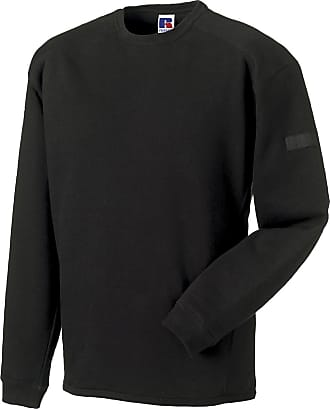 Russell Athletic Russell Collection Workwear Heavyduty Crew Neck Sweatshirt Mens Work Sweater 2XL Black