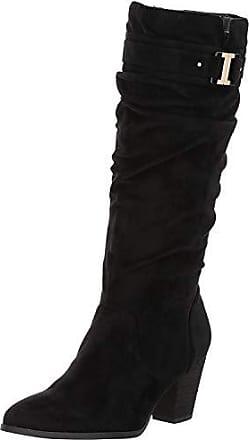 Dr. Scholls Dr. Scholls Womens Devote Riding Boot, Black Microfiber,10 M US