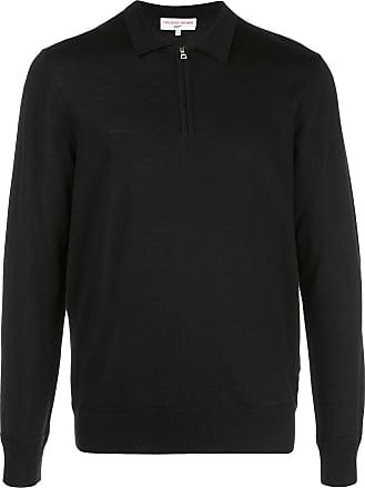 Orlebar Brown Camisa polo x 007 Moonraker - Preto