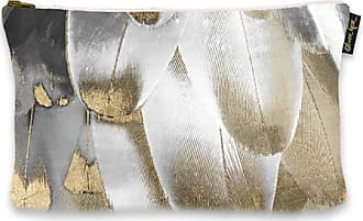 The Oliver Gal Artist Co. Royal Feathers Clutch
