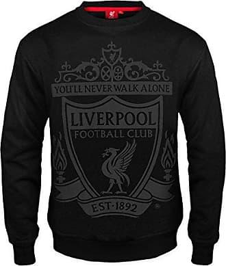 Geschenk f/ür Fu/ßballfans Offizielles Merchandise Jungen Fleece-Hoody mit Grafik-Print Liverpool FC