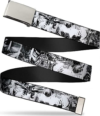 Buckle-Down Seatbelt Belt 32-52 Inches in Length Captain America Face C//U w//Shield Repeat 1.5 Wide