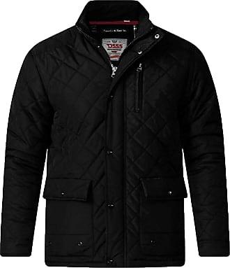 Duke London Mens Duke Jacket KSJUSTIN Black 3X Large