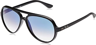 Ray-Ban Mens 4125 Sunglasses, Negro, 59