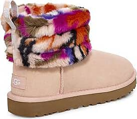 UGG Womens Fluff Mini Quilted Motlee Boot, Size 6, Shearling