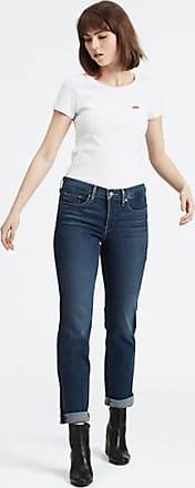 Levi's 314 Shaping Straight Jeans - Blau / Blau