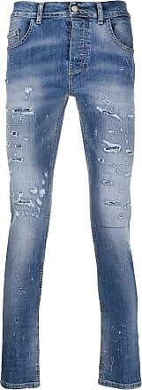 Frankie Morello Calça jeans skinny destroyed - Azul