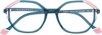 Face à Face Armação de óculos geométrico - Azul