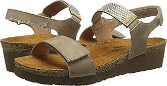 Naot Lisa (Khaki Beige Leather) Womens Shoes