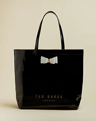 Ted Baker Bow Large Icon Bag in Black HANACON, Womens Accessories