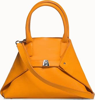 MQaccessories Little Messenger Bag in Cervo-Structured Calf Leather with Detachable Shoulder Strap
