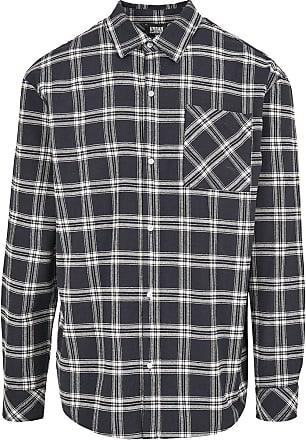 Urban Classics Oversized Check Shirt - Flanellhemd - blau, weiß