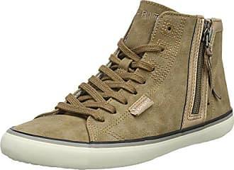 4f9237906c74 Esprit Damen Venus Bootie Hohe Sneaker, Braun (Taupe 2 241), 39 EU